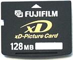 xD Geheugenkaart / Flashgeheugen