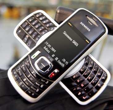 Siemens SK65 BlackBerry telefoon