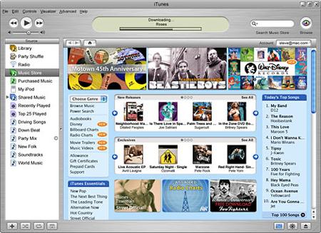 Apple iTunes 4.6
