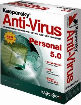 Kaspersky Anti-Virus Personal doos