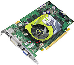 nVidia GeForce 6600 GT referencecard