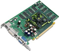 nVidia GeForce 6600 referencecard