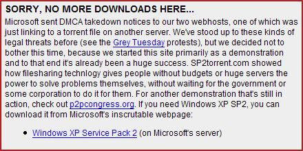 Microsoft sommeert Downhill Battle SP2 niet langer aan te bieden