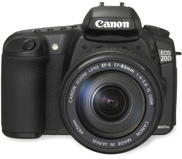 Canon EOS 20D (front)