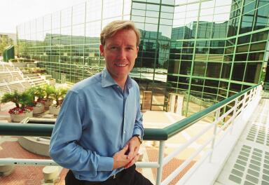 Michael Robertson, CEO van Lindows/Linspire