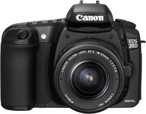Canon EOS 20D met EF-S 18-55 1:3.5-5.6
