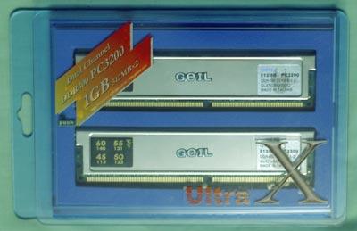 GeIL PC3200 Ultra X geheugen