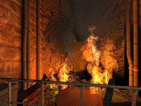 Half-Life 2-stresstest - vuur