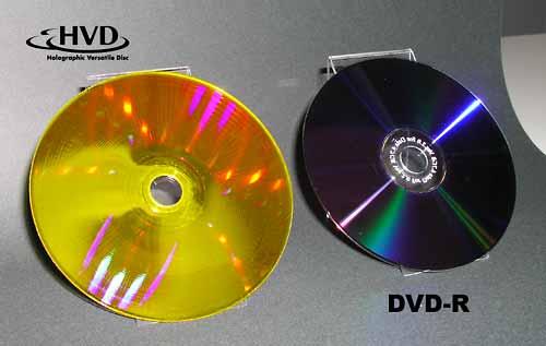 Optware HVD movie disc