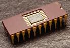 Een elektronische chip
