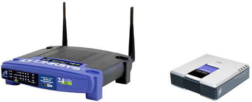 Linksys VoIP-router