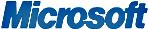 Microsoft blauw logo