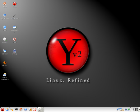 Yoper desktop (klein)