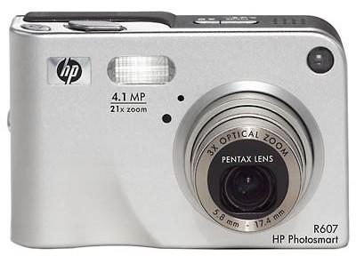 Hewlett Packard R607 digitale camera