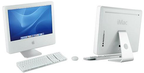 Apple iMac G5 voor en achter