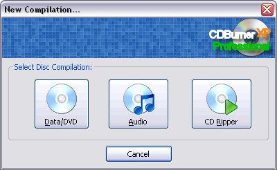 CDBurnerXP Pro 3 screenshot