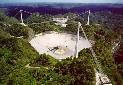 Arecibo - SETI radiotelescoop