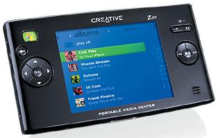 Creative Portable Media Center