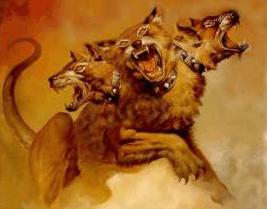 Kerberos - De driekoppige hond die de poorten van de onderwereld moest beschemen