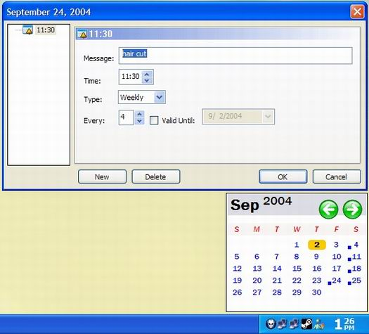 LClock screenshot (resized)