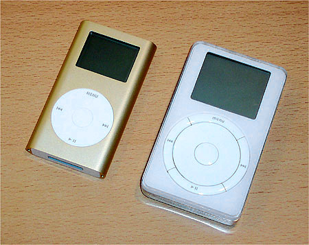 Ipod 5GB en iPod Mini