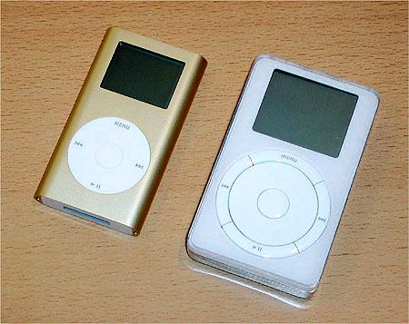 Ipod 5GB en iPod Mini