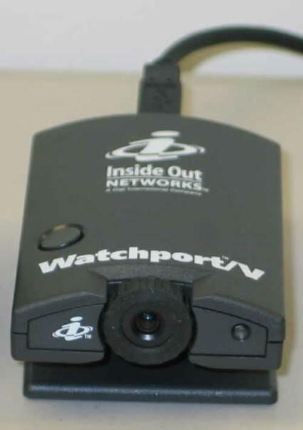 Inside Out Networks Watchport/V webcam