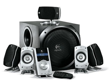 Logitech Z-5500 Digital 5.1-speakerset