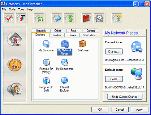 IconTweaker 1.0 screenshot