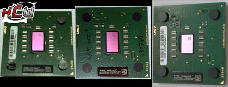 Athlon XP 2500+, Mobile Athlon 2500+, Sempron 2500+