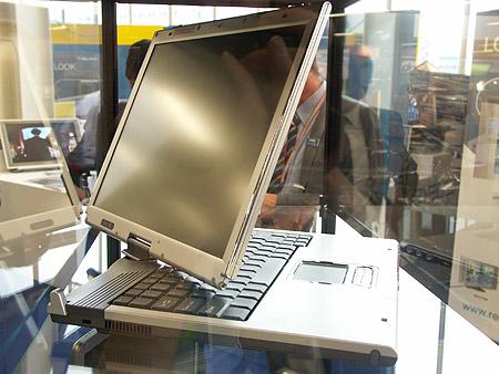 DID 2004: Prestigio laptop met horizontaal draaibaar scherm
