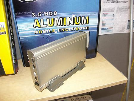 DID 2004: Aluminium schijfbehuizing