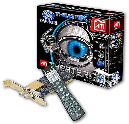 Sapphire ATi Theater 550 Pro tv-kaart