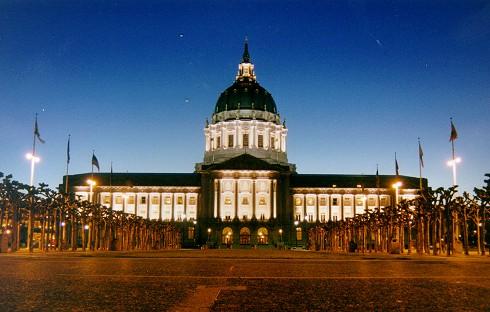 Overheids-/regeringsgebouw in San Francisco