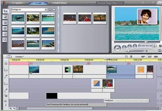 Pinnacle Studio 9 screenie