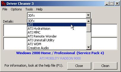 Driver Cleaner 3 screenshot