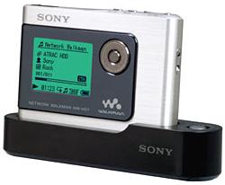 Draagbare audiospeler Sony