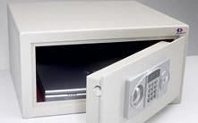 Laptop in kluis