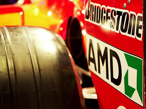 Photokina 2004: Ferrari @ Olympus stand - AMD reclame