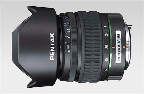 Pentax 18-55mm lens