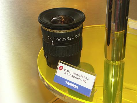Photokina 2004: Tamron 11-18mm lens