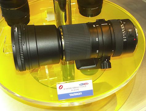 Photokina 2004: Tamron 200-500mm lens