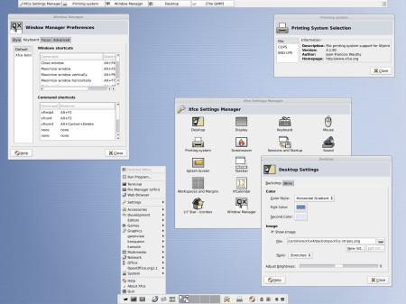 Xfce 4.2 beta 1 screenshot (klein)