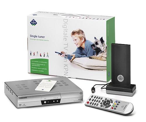 Digitale TV: Single tuner