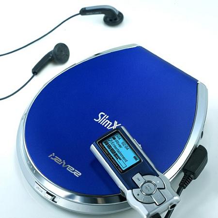 iRiver iMP-450 (blauw)