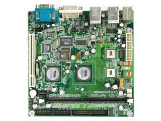 Dual Processor Mini-ITX moederbord