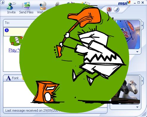 MSN Messenger 7 - Winks