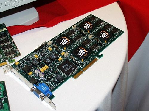3dfx Voodoo 5 6000 (4x VSA-100, 143MHz/166MHz/183MHz, 128bit)