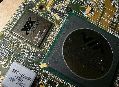 EPIA-N8000 zonder heatsink