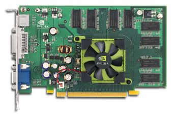 nVidia Geforce 6200-kaart